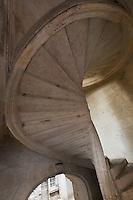 Europe/France/Aquitaine/24/Dordogne/Périgueux: Escalier à vis de l'Hôtel Fayard ou Maison  Estignard