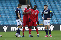 Cafu of Nottingham Forest moved away after a confederation during Millwall vs Nottingham Forest, Sky Bet EFL Championship Football at The Den on 19th December 2020