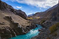 Zanskar River, ammu and Kashmir, India