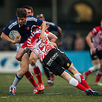 French Development Team vs Samurai International during the 2015 GFI HKFC Tens at the Hong Kong Football Club on 26 March 2015 in Hong Kong, China. Photo by Xaume Olleros / Power Sport Images