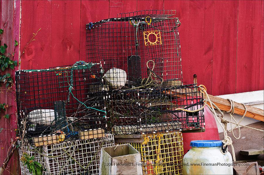 Dockside Traps, Menemsha, Martha's Vineyard