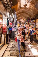 Israel, Jerusalem, market in the muslin quarter