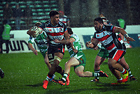 Hoskins Sotutu in action during the 2021 Bunnings Warehouse Cup rugby match between Manawatu Turbos and Counties Manukau Steelers at CET Stadium in Palmerston North, New Zealand on Friday, 6 August 2021 Photo: Dave Lintott / lintottphoto.co.nz