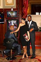 Joe Minoso, Miranda Rae Mayo, LaRoyce Hawkins - 57th Monte-Carlo Television Festival Party at the Casino of Monte-Carlo, Monaco, 16/06/2017. # 57EME FESTIVAL DE LA TELEVISION DE MONTE-CARLO - SOIREE AU CASINO