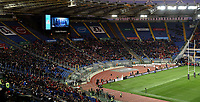 Panoramic view of the stand with lot of empty seats <br /> Roma 9-02-2019 Stadio Olimpico<br /> Rugby Six Nations tournament 2019  <br /> Italy - Wales <br /> Foto Andrea Staccioli / Resini / Insidefoto