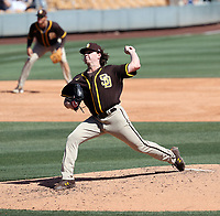 Ryan Weathers - San Diego Padres 2021 spring training (Bill Mitchell)