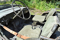 BNPS.co.uk (01202) 558833.<br /> Pic: H&HAuctions/BNPS<br /> <br /> A World War Two jeep owned by Doctor Doolittle star Rex Harrison is expected to sell for £30,000.<br /> <br /> The durable 1943 Ford GPW originally served with the British army's 6th armoured division and was later bought by the Oscar winner in Italy.  <br /> <br /> Two original pictures of Harrison in the military green vehicle, including one with glamorous Hollywood icon, Rita Hayworth, are included in the sale.