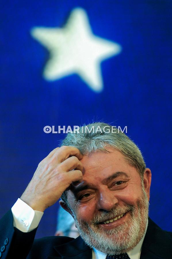 Presidente Luiz Inácio Lula da Silva.Encontro de Prefeitos. Brasília. 10.02. 2009.  Foto de Sergio Amaral
