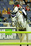 Emilie Martinsen Participates in the $20,000 Gamblers Choice Costume Jump at The 53rd annual Washington International Horse Show at the Verizon Center in  Washington D.C. on 10/27/11 (Ryan Lasek / Eclipse Sportwire)