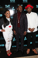 MIAMI, FL - FEBRUARY 19: Kitchie, Floyd Mayweather & P-Reala attend his 44th futuristic Birthday Party at Casablanca on the Bay on February 19, 2021 in Miami, Florida. Photo Credit: Walik Goshorn/Mediapunch