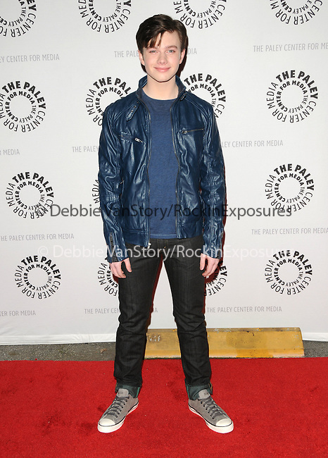 Chris Colfer at the Twenty-Seventh Annual PaleyFest: William S. Paley Television Festival honoring The Cast of Glee held at The  Saban Theatre in Beverly Hills, California on March 13,2010                                                                   Copyright 2010  DVS / RockinExposures