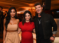 2020 FOX WINTER TCA: THE MASKED SINGER panelist Nicole Scherzinger (L) and Robin Thicke (R), and FLIRTY DANCING host Jenna Dewan (C) celebrate at the FOX WINTER TCA ALL-STAR PARTY during the 2020 FOX WINTER TCA at the Langham Hotel, Tuesday, Jan. 7 in Pasadena, CA. © 2020 Fox Media LLC. CR: Frank Micelotta/FOX/PictureGroup