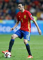 Spain's Sergio Busquets during FIFA World Cup 2018 Qualifying Round match. March 24,2017.(ALTERPHOTOS/Acero) /NortePhoto.com