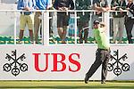 Patrick Reed of USA tees off the first hole during the 58th UBS Hong Kong Open as part of the European Tour on 08 December 2016, at the Hong Kong Golf Club, Fanling, Hong Kong, China. Photo by Marcio Rodrigo Machado / Power Sport Images