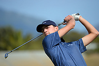 Michael Ellis. Day one of the Renaissance Brewing NZ Stroke Play Championship at Paraparaumu Beach Golf Club in Paraparaumu, New Zealand on Thursday, 18 March 2021. Photo: Dave Lintott / lintottphoto.co.nz