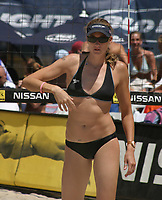 Fort Lauderdale, FL  April 1st,2nd, 3rd, 2005<br /> Kerri Walsh and Misty May (2004 Olympic Gold Medalists and AVP MVP) winners of the first 2005ProBeach VolleyballWomen's AVP Nissan SeriesFort Lauderdale Open, at South Beach Park.<br /> Digital Photo by ©JR Davis-PHOTOlink