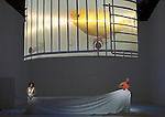 PORGY AND BESS..Mise en scene : ORLIN Robyn.Orchestre : New World Symphony America s Orchestral Academy.Decor : DE DARDEL Alexandre.Lumiere : HEWLETT Marion.Costumes : BERIOT Olivier.Avec :.SHORT Kevin:Porgy.MAHAJAN Indira:Bess.Lieu : Opera Comique.Ville : Paris.Le : 30 05 2008.© Laurent PAILLIER / www.photosdedanse.com.All rights reserved
