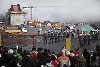 Skouries, Greece Sunday 23 November 2014<br />