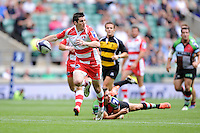 Rhodri McAtee of Gloucester Rugby 7s during the World Club 7s at Twickenham on Sunday 18th August 2013 (Photo by Rob Munro)