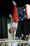 21.11.2010 Gymnastics Grand Prix from Glasgow.Lukenchuk of Canada