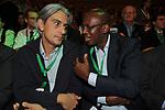 ANDREA SARUBBI CON JEAN LEONARD TOUADI<br /> ASSEMBLEA PARTITO DEMOCRATICO - HOTEL MARRIOTT ROMA 2009