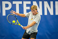 Amstelveen, Netherlands, 17  December, 2020, National Tennis Center, NTC, NK Indoor, National  Indoor Tennis Championships,   : Fons van Sambeek (NED) <br /> Photo: Henk Koster/tennisimages.com