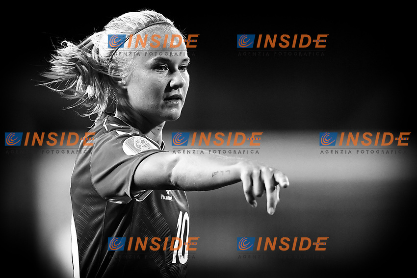 Pernille Harder of Denmark reacts during the Women s EURO 2022 qualifying football match between Italy and Denmark at stadio Carlo Castellani in Empoli (Italy), October, 27th, 2020. Photo Andrea Staccioli / Insidefoto