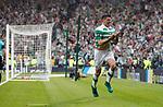 Tom Rogic scores the winner for Celtic and celebrates