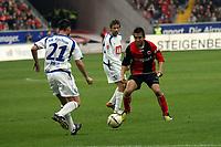 Junichi Inamoto (EIntracht) gegen Marc Pfertzel (Bochum)<br /> Eintracht Frankfurt vs. VfL Bochum, Commerzbank Arena<br /> *** Local Caption *** Foto ist honorarpflichtig! zzgl. gesetzl. MwSt. Auf Anfrage in hoeherer Qualitaet/Aufloesung. Belegexemplar an: Marc Schueler, Am Ziegelfalltor 4, 64625 Bensheim, Tel. +49 (0) 6251 86 96 134, www.gameday-mediaservices.de. Email: marc.schueler@gameday-mediaservices.de, Bankverbindung: Volksbank Bergstrasse, Kto.: 151297, BLZ: 50960101