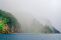 raining, Cocos Island, National Park, UNESCO World Heritage Site, Costa Rica, Pacific Ocean