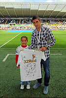 Saturday, 01 September 2012<br /> Pictured: Pablo Hernandez of Swansea.<br /> Re: Barclays Premier League, Swansea City FC v Sunderland at the Liberty Stadium, south Wales.