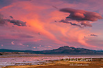 Sunset,  Wetlands, Mono Lake, Mono Basin National Forest Scenic Area, Inyo National Forest, California