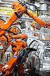 Jaguar land Rover plant, Halewood, Knowsley, Merseyside