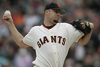 Jason Schmidt. St. Louis Cardinals vs San Francisco Giants. San Francisco, CA 8/1/2004 MANDATORY CREDIT: Brad Mangin