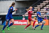 Seattle, WA - Saturday May 13, 2017: Rebekah Stott during a regular season National Women's Soccer League (NWSL) match between the Seattle Reign FC and the Washington Spirit at Memorial Stadium.