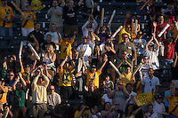 LA Galaxy fans. The Los Angeles Galaxy defeated Real Salt Lake, 3-2, at the Home Depot Center in Carson, CA on Sunday, June 17, 2007.
