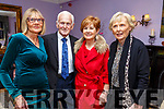 Guess The Chef: Pictured at the Guess the Chef event at Kilcooley's Country House Hotel iin aid of the Kerry Hospice Foundation on Friday nigh last were Sylvia & Padraigh O'Sullivan, Mary Phelan & Phil Buckley.
