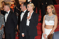 Jared Harris, Jean Reno, Charlize Theron, Adele Exarchopoulos - CANNES 2016 - DESCENTE DU FILM 'THE LAST FACE'
