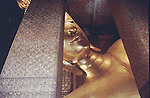 Gold plated giant buddha statue<br />