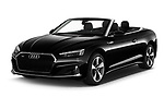 2021 Audi A5-Cabriolet Avus 2 Door Convertible Angular Front automotive stock photos of front three quarter view