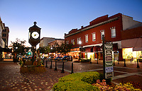 Sanford Florida historic district of 1st street in an old town in Florida known for farming, auto train and Trayvon Martin who was murdered black teenager in the news in 2013