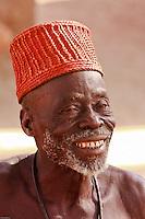 Jokani, capo del villaggio Kokò, Villaggio Taneka, Benin