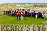 Ballybunion Golf Club's Maureen Dillane (Lady President), Mary Horgan (Ladies Captain), Sean Healy (Mens Captain) and John Sexton (Mens President) at the Drive in Shotgun in the Old Course Ballybunion on Sunday last.