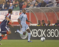 Colorado Rapids forward Omar Cummings (14). The New England Revolution tied the Colorado Rapids, 1-1, at Gillette Stadium on May 16, 2009.