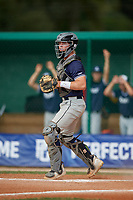 Will Rogers (15) during the WWBA World Championship at Terry Park on October 9, 2020 in Fort Myers, Florida.  Will Rogers, a resident of Shoreview, Minnesota who attends Mounds View High School, is committed to Arizona State.  (Mike Janes/Four Seam Images)