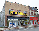 January 16, 2017- Tuscola, IL- The former location of Dollar General at 101 East Sale Street. [Photo: Douglas Cottle]