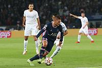 28th September 2021, Parc des Princes, Paris, France: Champions league football, Paris-Saint-Germain versus Manchester City:  Marco Verratti (PSG)