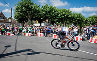 eventual stage winner Matej Mohoric (SVK/Bahrain-Victorius)<br /> <br /> Stage 19 from Mourenx to Libourne (207km)<br /> 108th Tour de France 2021 (2.UWT)<br /> <br /> ©kramon