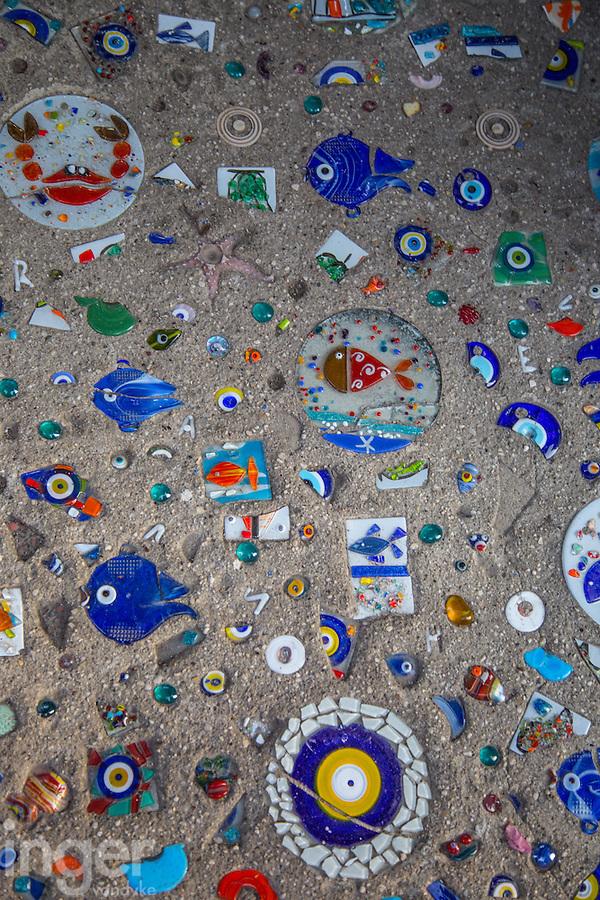 Mosaic pathway at Kas, Turkey