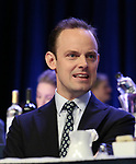 Harry Hadden-Paton on stage during the 2018 Drama League Awards at the Marriot Marquis Times Square on May 18, 2018 in New York City.
